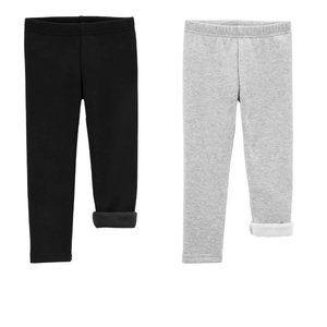 Carter's - x2 Warm Weather 4T Fleece Lined Pants